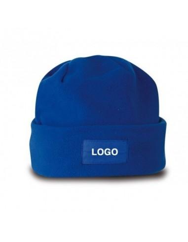 Cappellino zuccotto in pile rosso 10pz