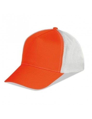 03530 Cappellino 5 pannelli Mesh