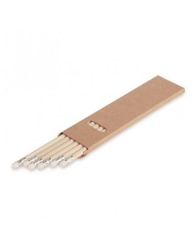 00545 Set 6 matite naturali